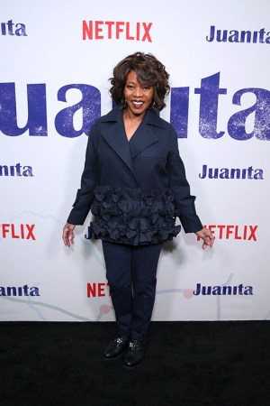 "NEW YORK, NEW YORK - MARCH 07: Alfre Woodard attends ""Juanita"" Special Screening on March 07, 2019 in New York City. (Photo by Monica Schipper/Getty Images for Netflix)"