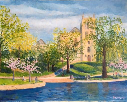Amasa Stone Church and Wade Lagoon