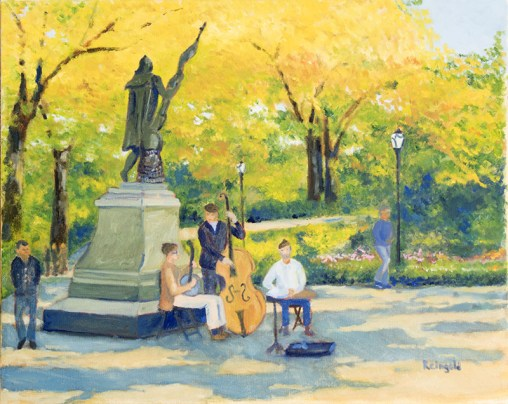 Central Park Columbus Memorial