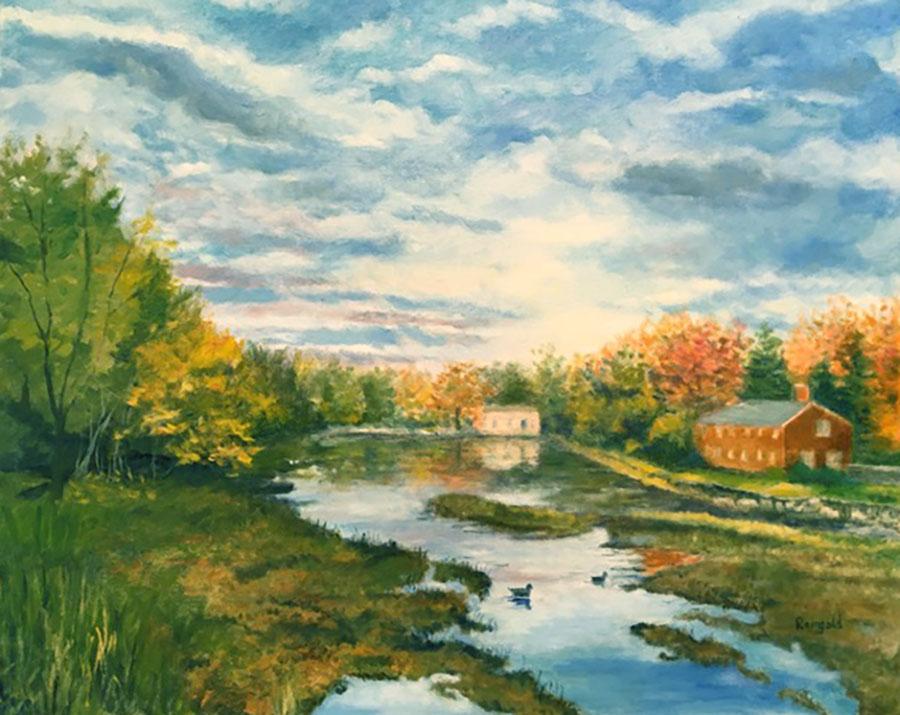Fall Morning at Green Lake