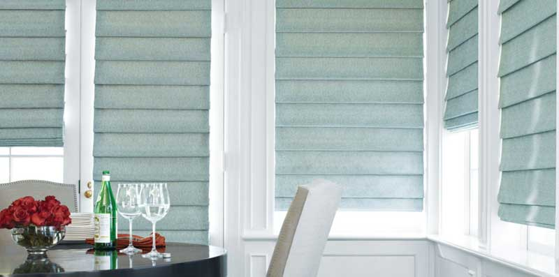 hunter douglas roman shade
