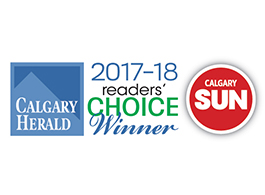 Readers Choice Award 2018 - Calgary Herald