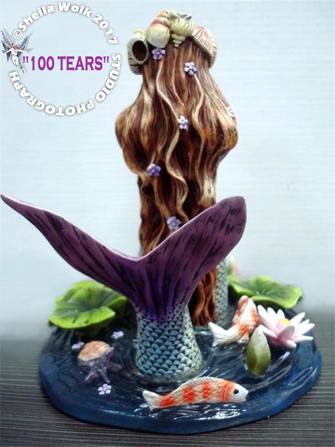 SHEILA WOLKS 100 TEARS Mermaid Figurine