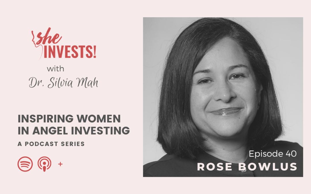 040 Rose Bowlus – Finding Your Voice as an Investor