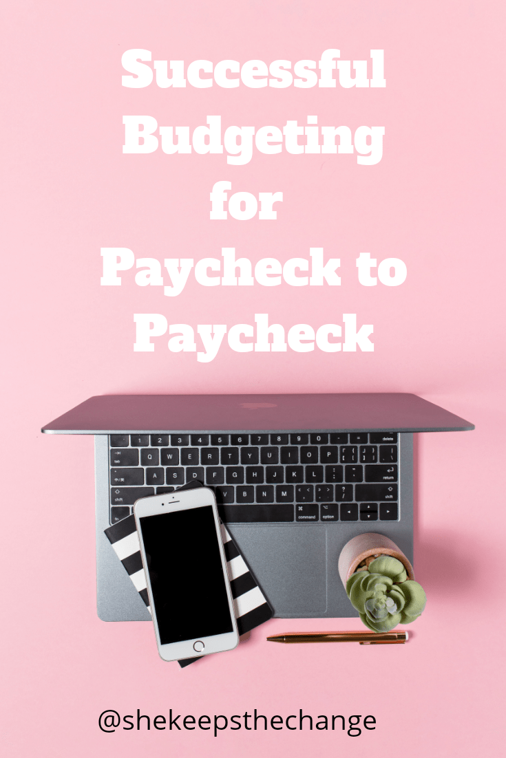 Paycheck budgeting