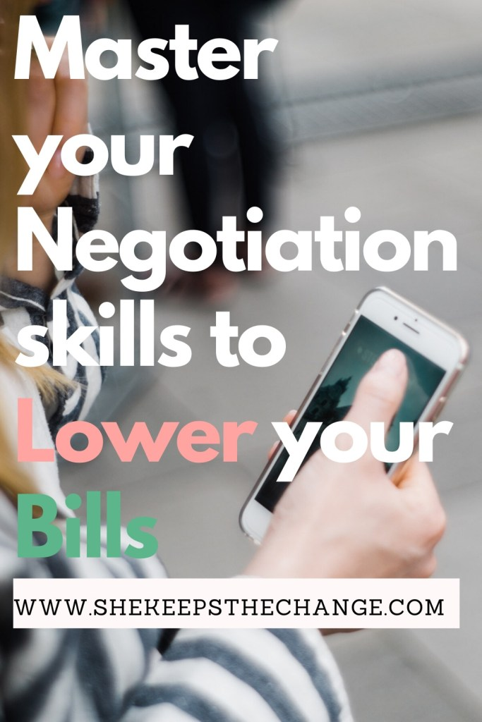 Master your Negotiation skills to lower your Bills on the phone