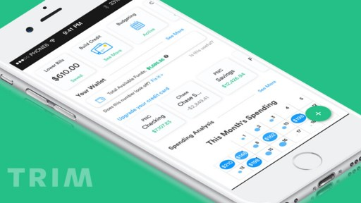 trim money saving app