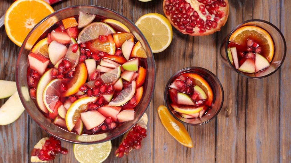 make some New year's eve punch, below is the recipe