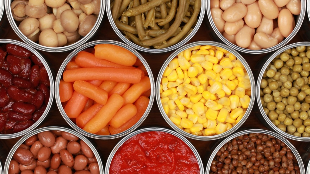 Cheapest foods in the Grocery Store are sometimes Canned