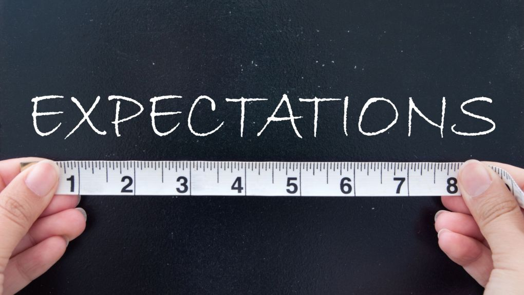 Measure your goals expectations