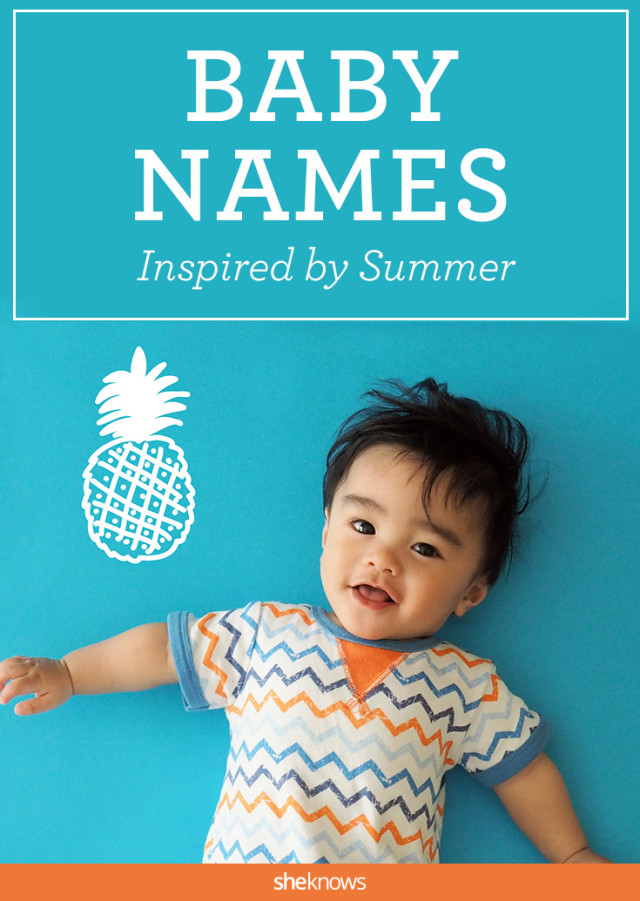 Summertime baby names just right for your little ray of ...