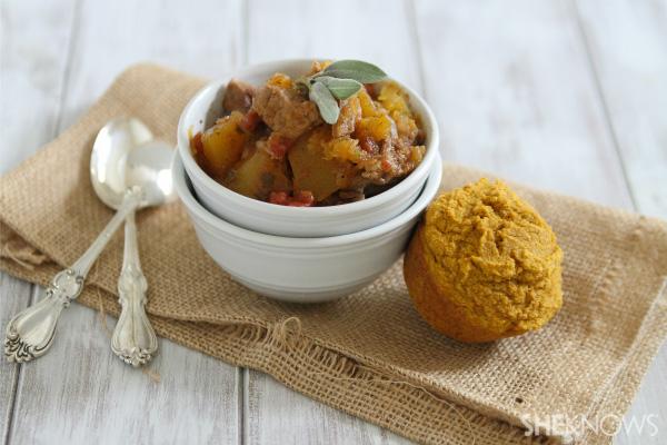 pork pumpkin stew