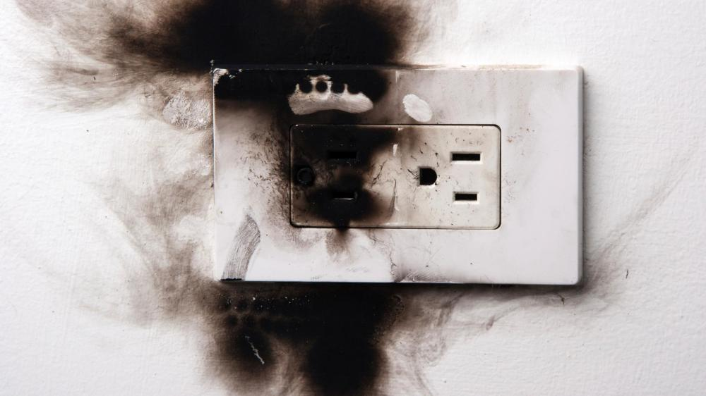 medium resolution of could your electrical outlet set your home on fire