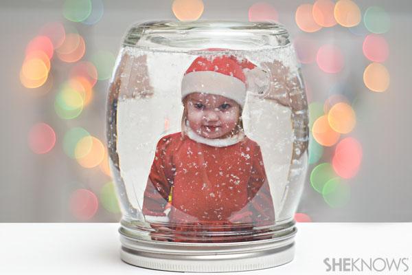 Christmas Snow Globe Craft