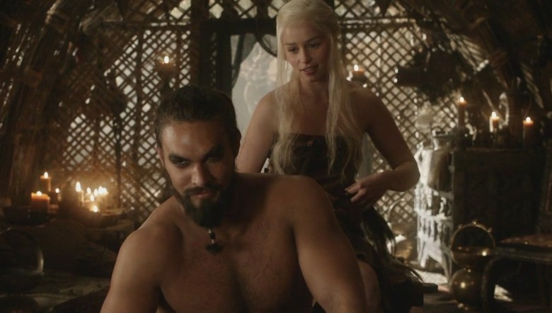 Image result for Daenerys Targaryen and Khal Drogo