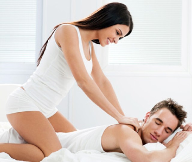 Woman Giving Man Massage