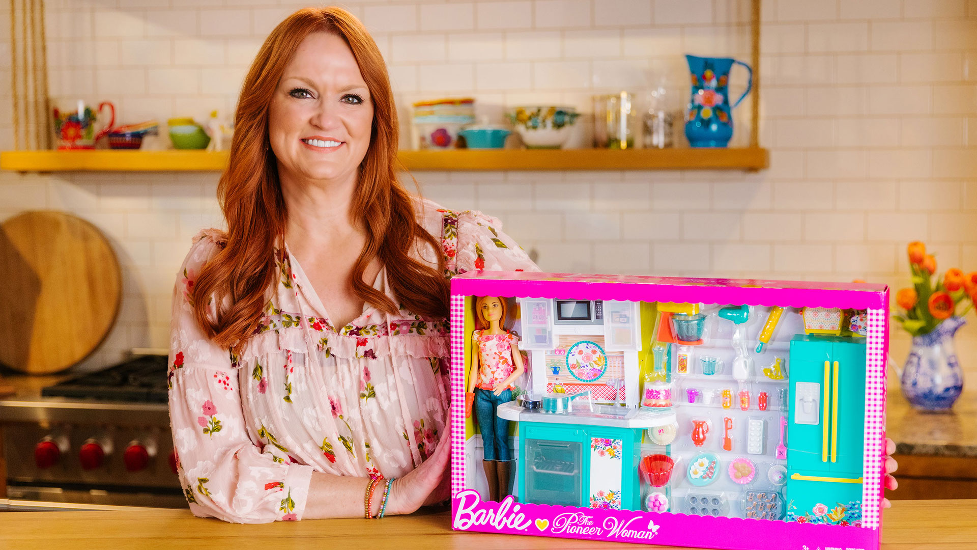 barbie kitchen playset 8 island ree drummond now has her very own play set it s already sold out