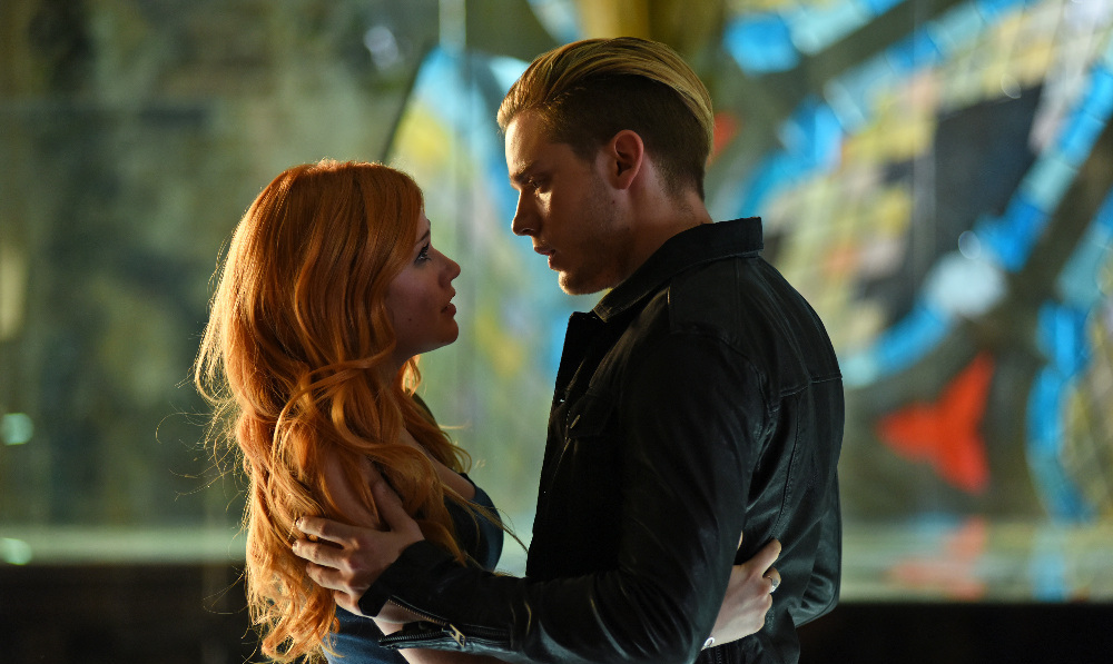 Image result for clary and jace