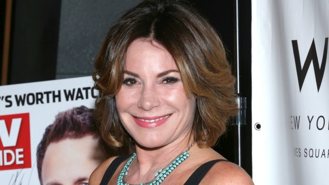 rhony's luann de lesseps just made herself untrustworthy to