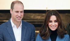Prince William & Kate Middleton Attempt a Casual 2018 Christmas Card Photo, & It's Amazing