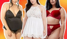 Sexy Plus-Size Lingerie to Shop for Valentine's Day