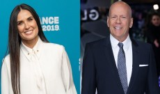 Demi Moore Supports Ex-Husband Bruce Willis at His 10-Year Anniversary Party