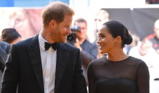 Meghan Markle & Prince Harry Jet (Commercial!) Into Rome for Pal Misha Nonoo's Wedding