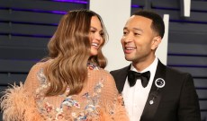 John Legend & Chrissy Teigen Recorded a Christmas Song with Daughter Luna — Here's How to Listen