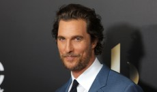Matchmaker Alert! Matthew McConaughey Just Fixed His Mom Up with Hugh Grant's Dad
