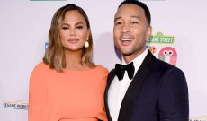 Chrissy Teigen Shared a Video of Luna Writing to Santa and We Can't Stop Watching