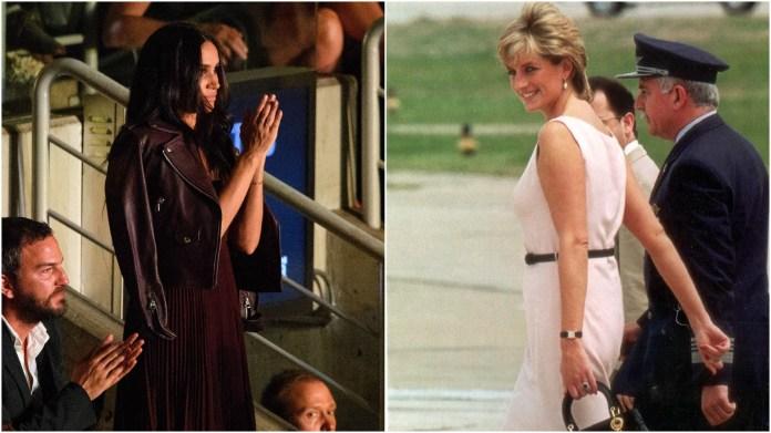 Princess Diana; Meghan Markle.