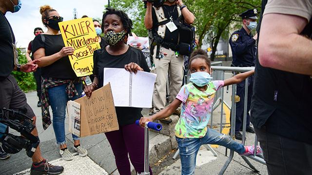 Black Children Ask 'Am I Next?' at George Floyd Protests