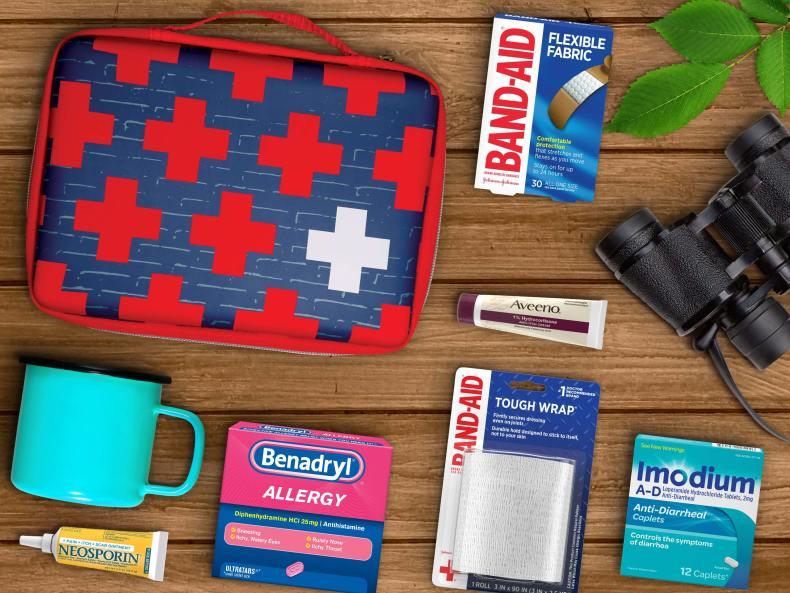 First aid kit bag