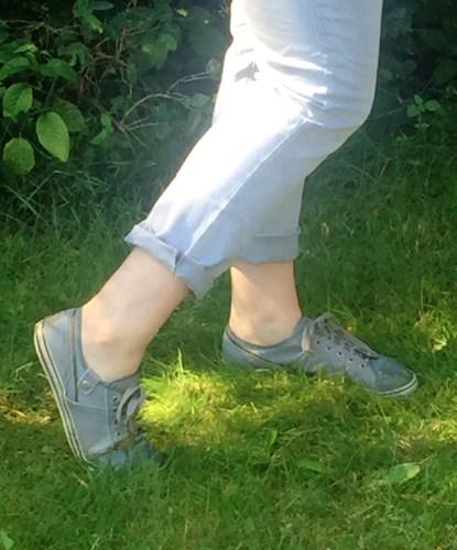 Gray-Sneakers