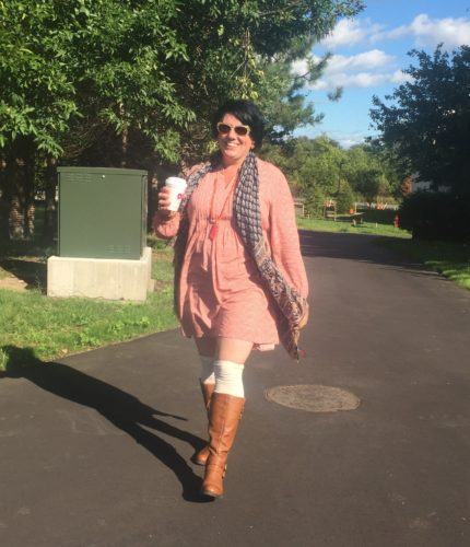 ad0ff23cca5 How to Wear Over the Knee Socks Over 40 and Link Up On the Edge  14 ...