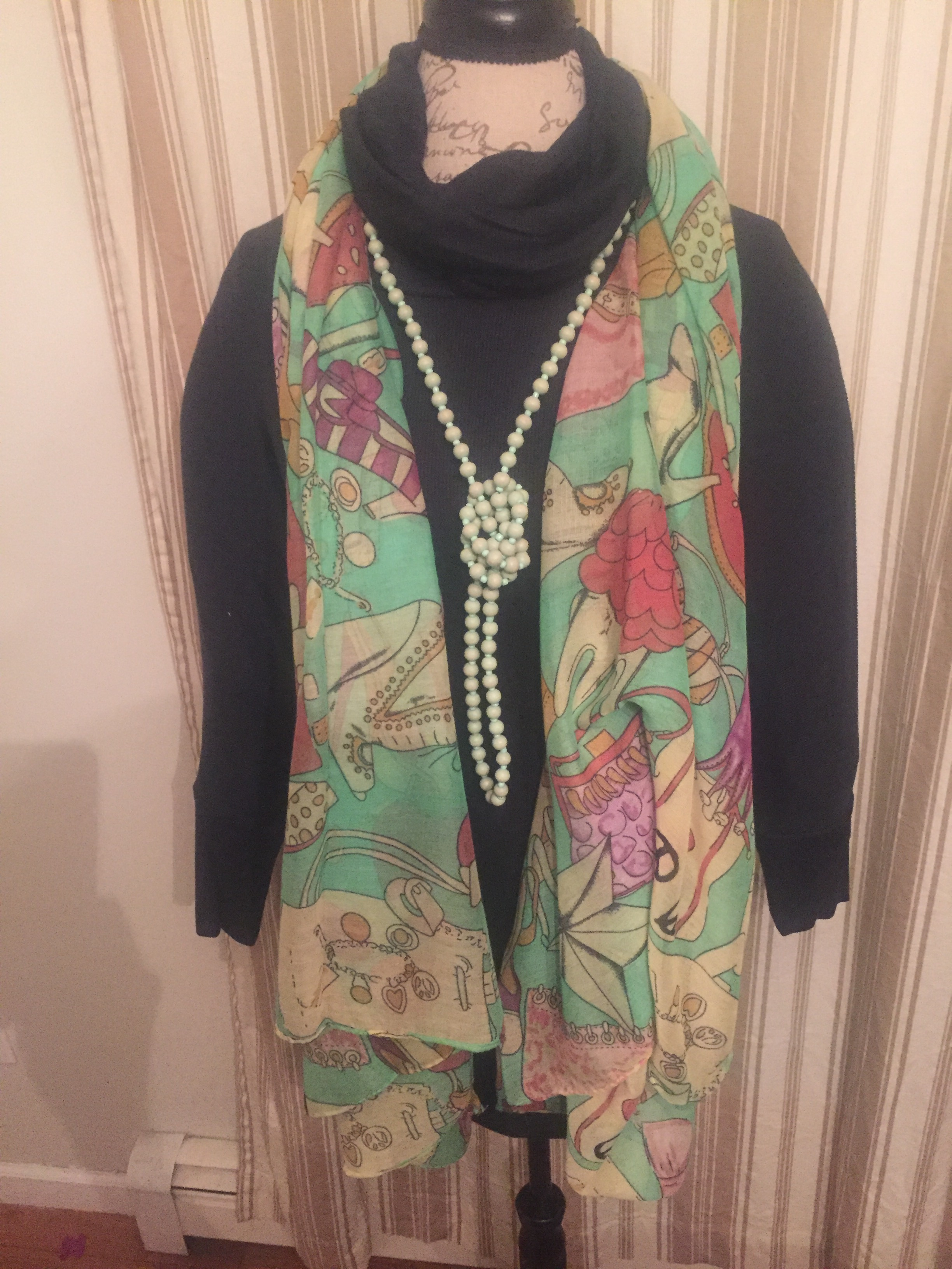 Accessories Print Scarf