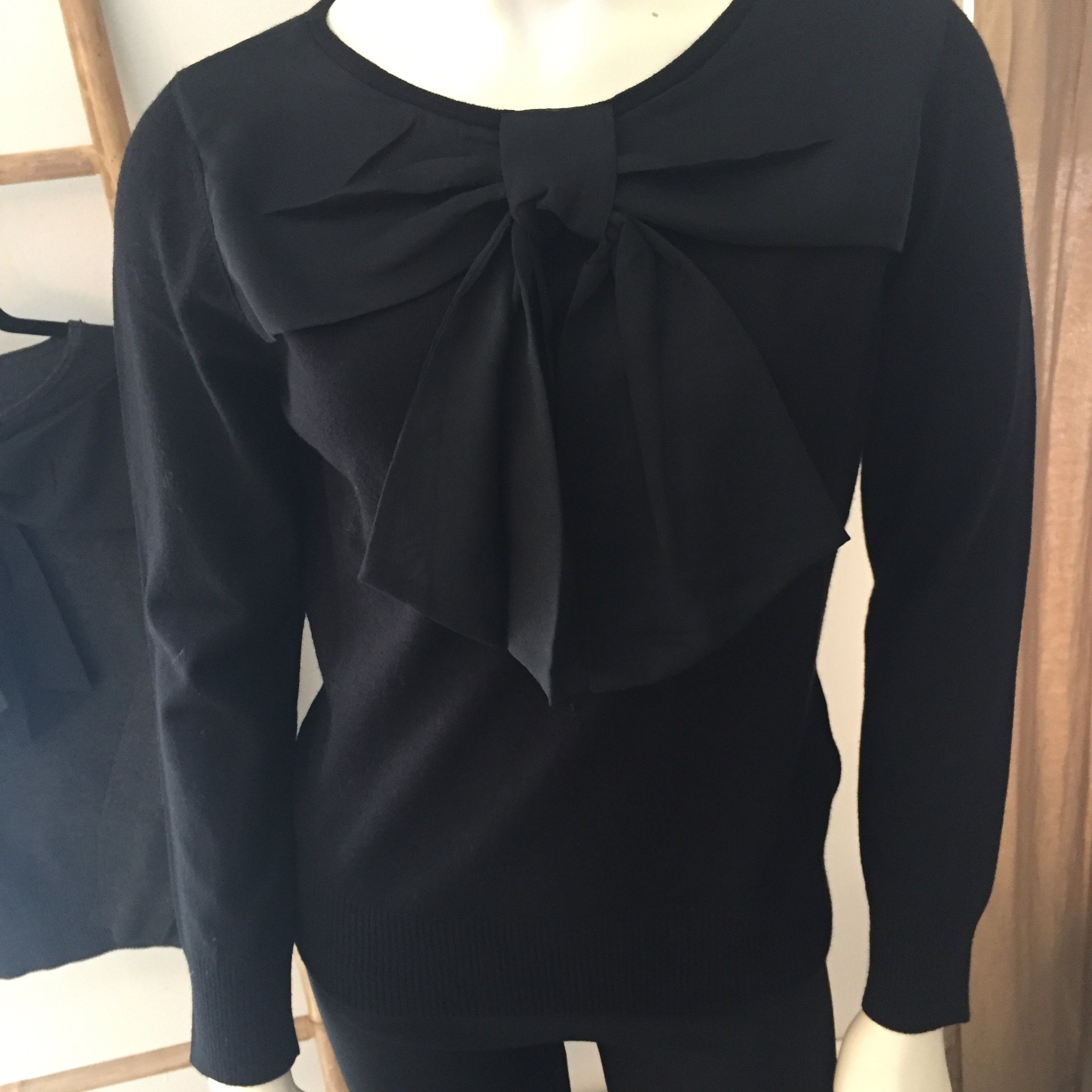 Bow Front Sweater