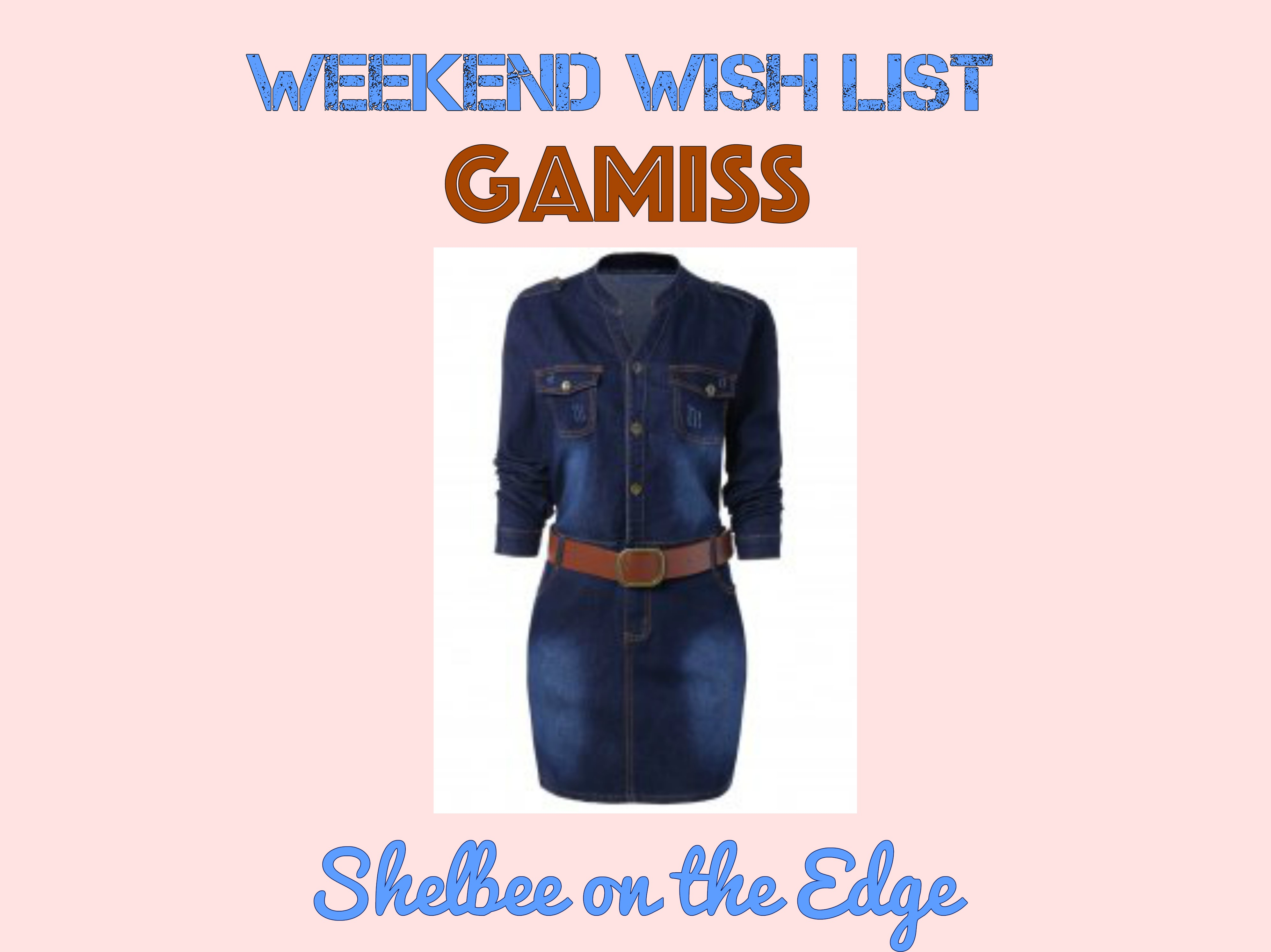 Weekend Wish List: Gamiss for Fall