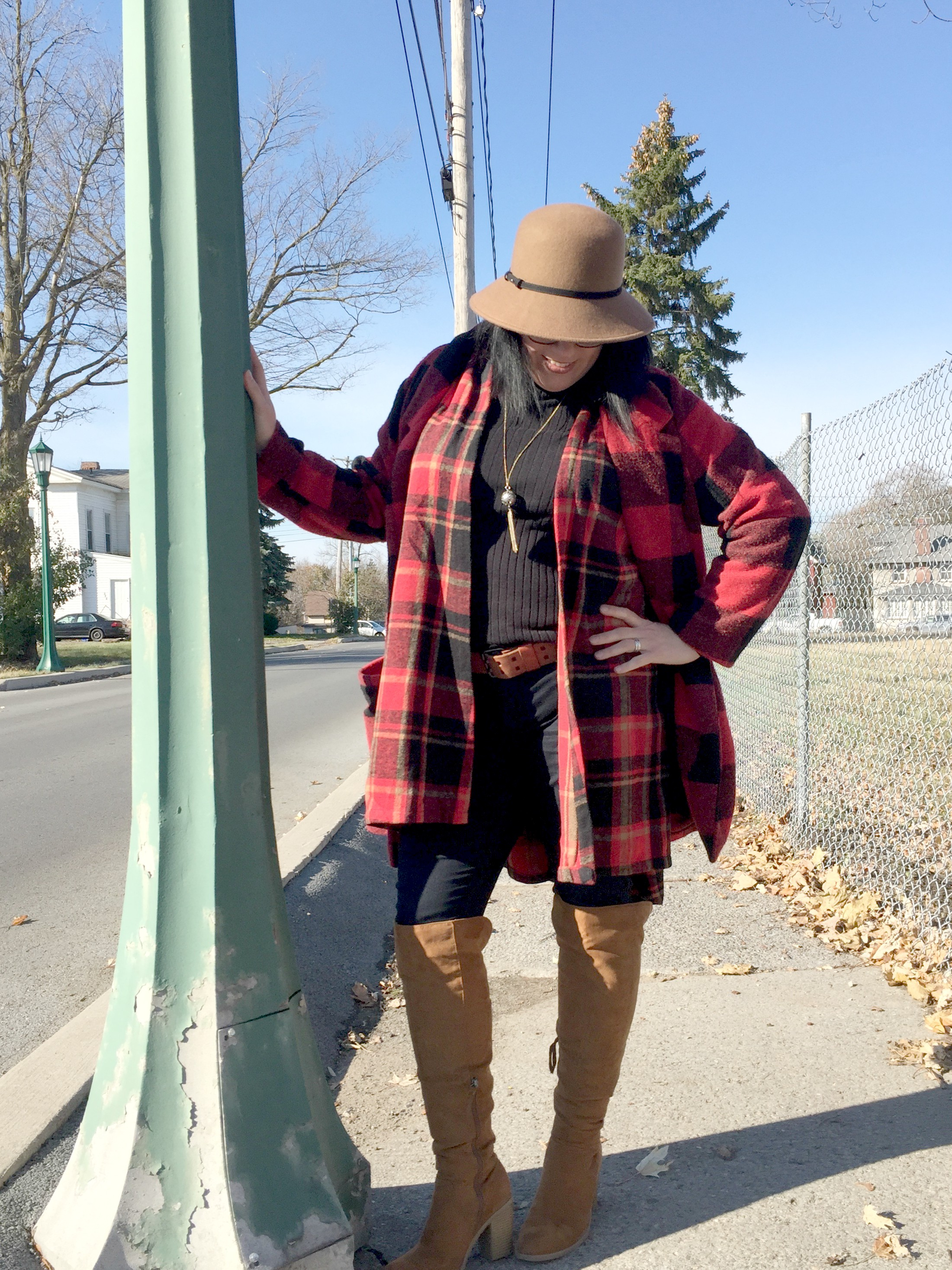 Plaid Squared with DressLily & Link Up On the Edge #71