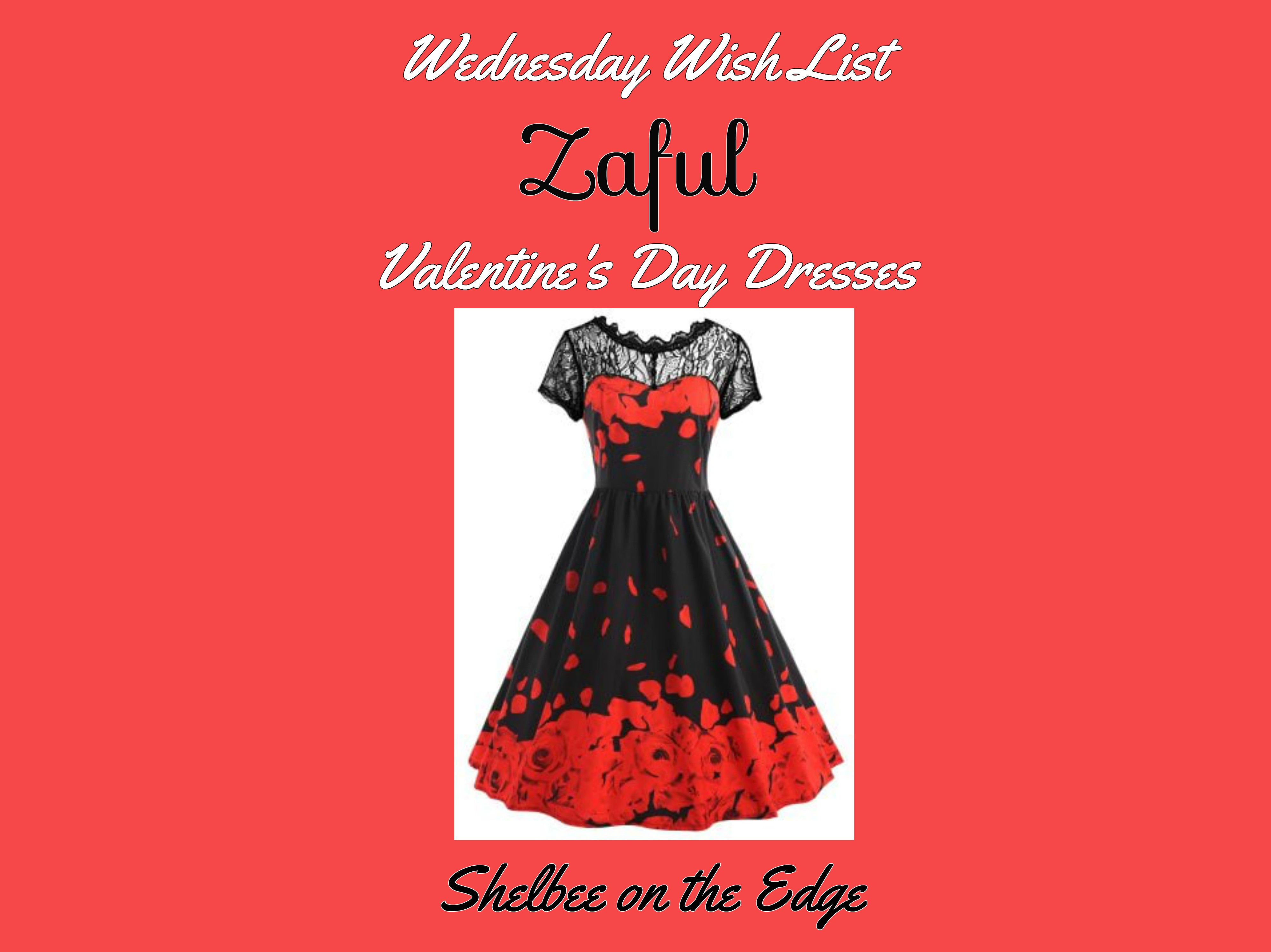 Wednesday Wish List: Zaful Valentine's Day Dresses