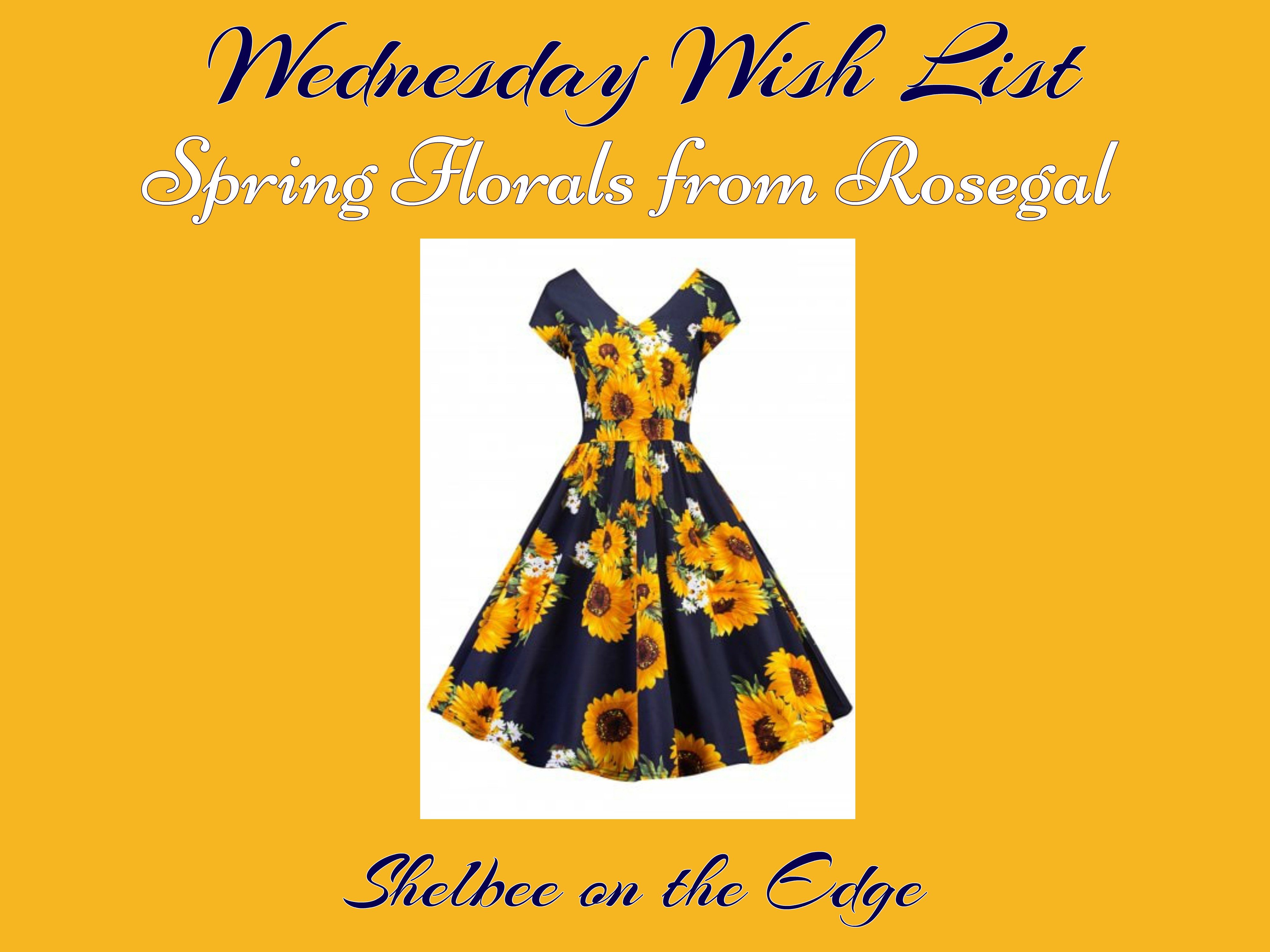 Wednesday Wish List: Spring Florals From Rosegal