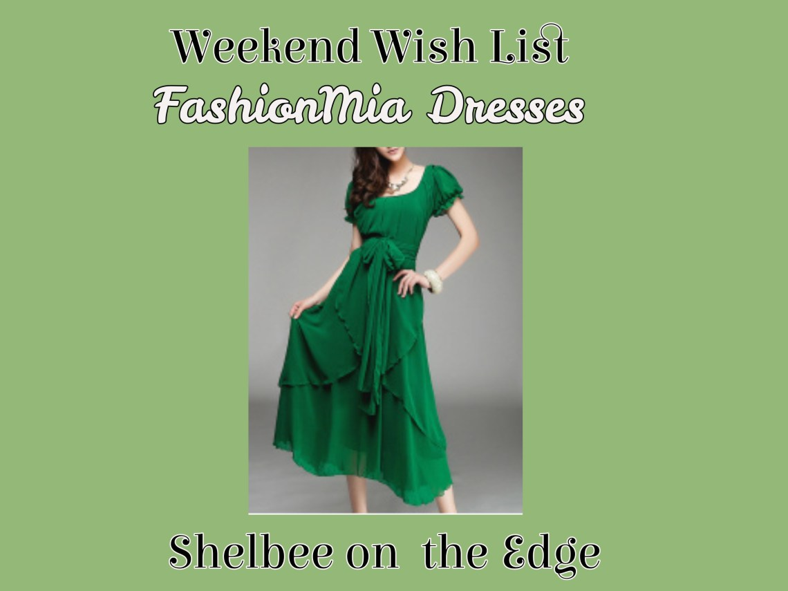 669e867d6de ... theme of Spring and Summer dresses that I started this week with my  Wednesday Wish List. However