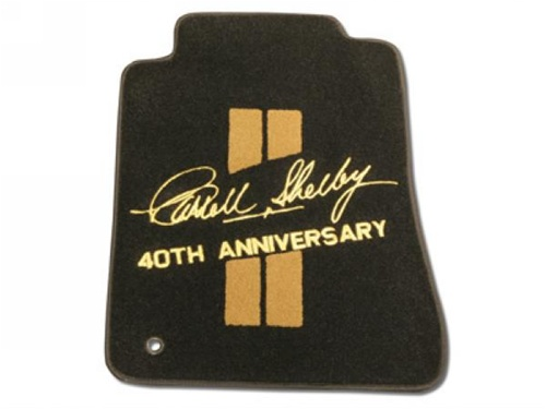 Shelby GTH 40th Anniversary Floor Mats 2006