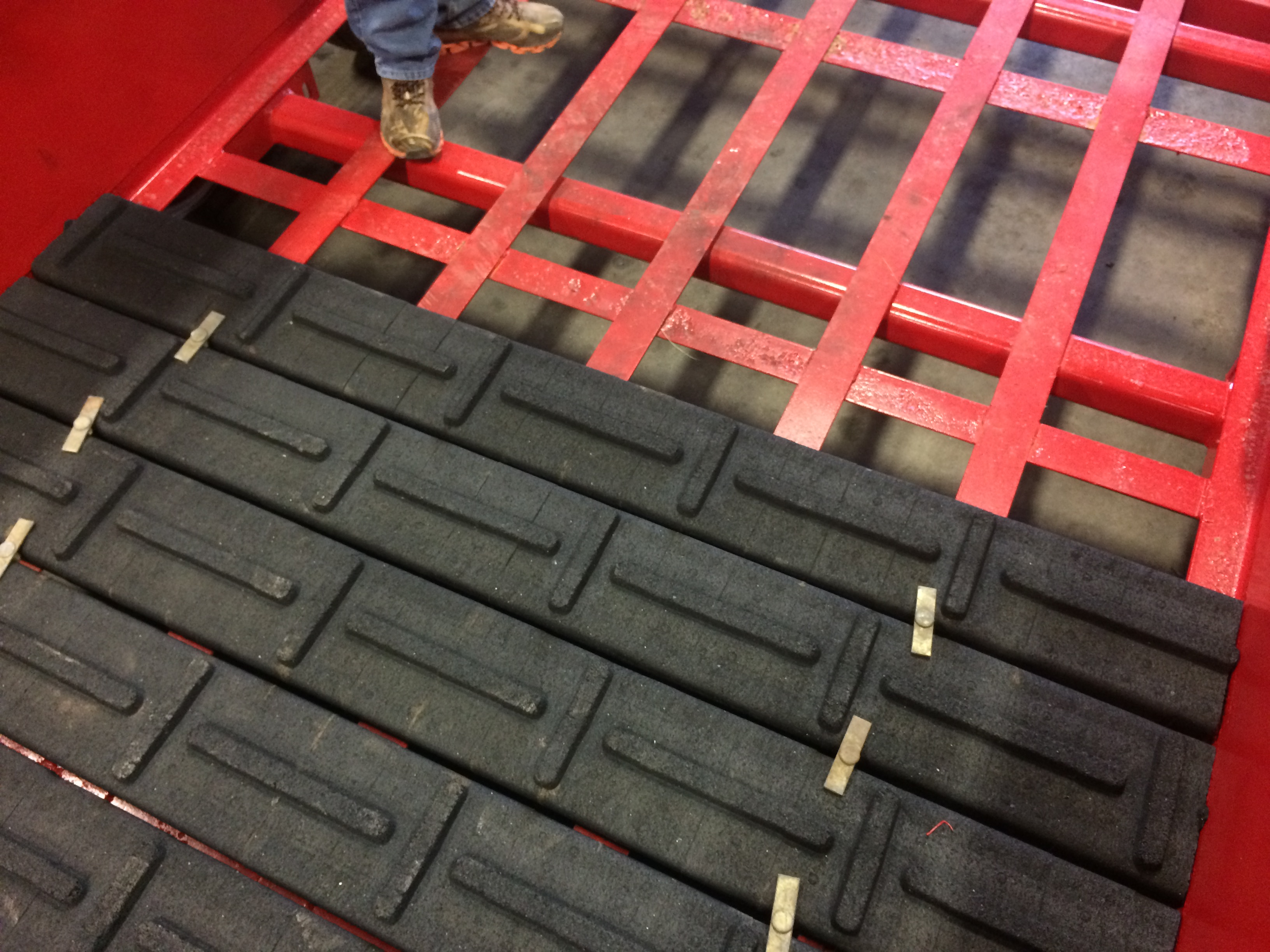 1 Inch Rubber Floor Board Commercial Industrial Mats