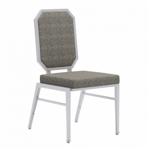 standard banquet chairs florida gator office chair metal seating stack 8312