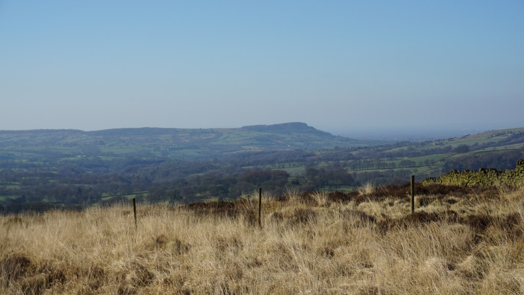 Looking across to 'The Cloud'