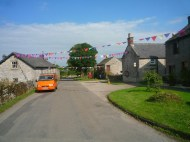 Main Road with Bunting
