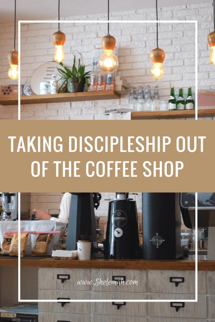 Trying to find a more life on life approach to discipleship? Learn how to take the conversations out of the coffee shop.