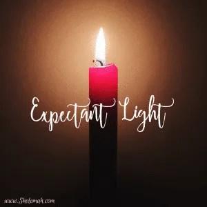 expectant light advent devotional