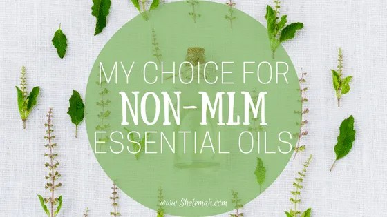 My brand of choice for non-mlm essential oils